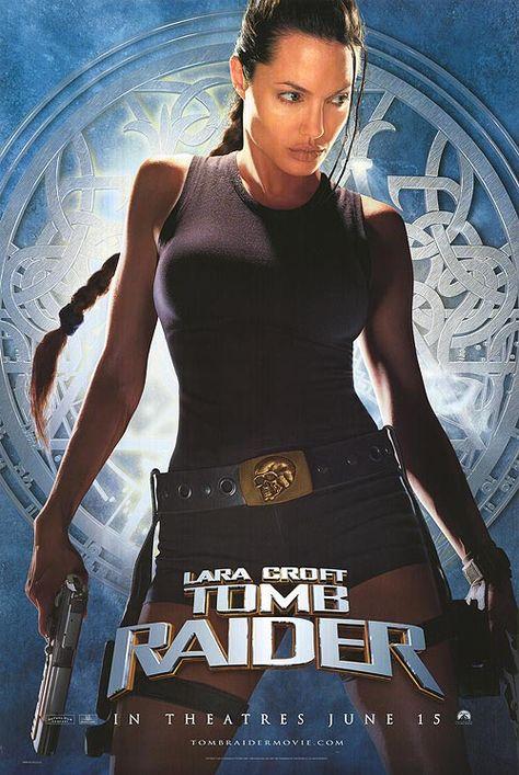 Tomb Raider Huge Movie Poster Banner (Angelina Jolie, Lara Croft, Larger Vinyl Posters)