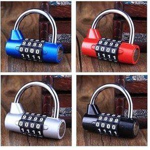 ダイヤルロック ナンバーロック 暗証番号 4桁 南京錠 鍵 補助錠 錠前