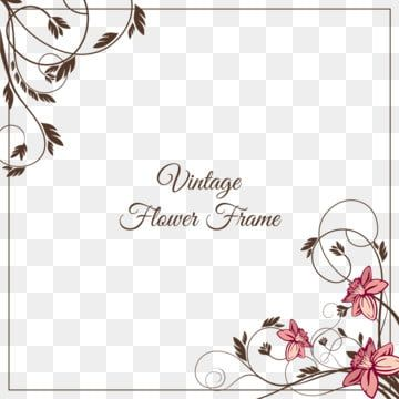 Gambar Bingkai Bunga Antik Daun Bunga Pola Png Dan Vektor Dengan Latar Belakang Transparan Untuk Unduh Gratis Bingkai Bunga Bunga Pola Vektor