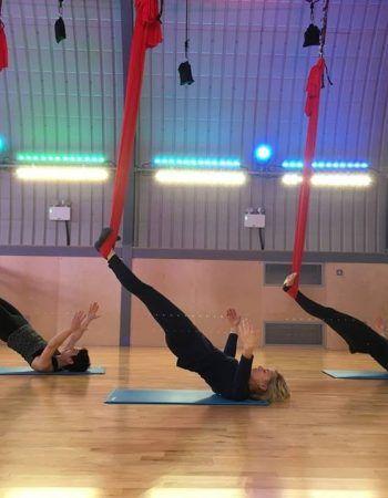 Aerial Yoga Experience | Zen Hen Party Activities | Aerial