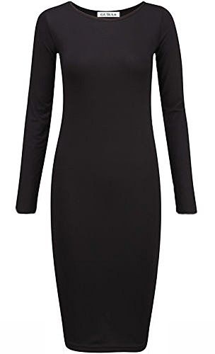Woman Long Sleeve dress Solid Color High Neck Hollow out Bodycon dress S-3XL