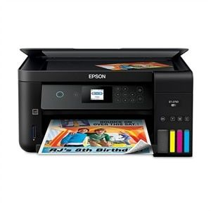 Epson Expression Et 2750 Ecotank Wireless Color All In One Supertank Printer Dell Usa Printer Scanner Epson Printer Epson