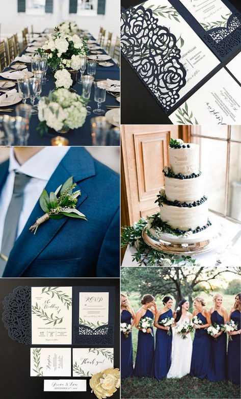 Navy And Green Wedding Invitations Pinterest Hashtags Video And