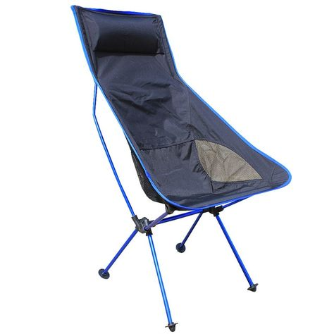 Portable Camping Chair Lightweight Folding Seat Outdoor Fishing Hiking Picnic