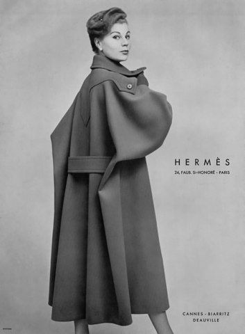 Hermes trench coat executed perfectly using his tailoring skills