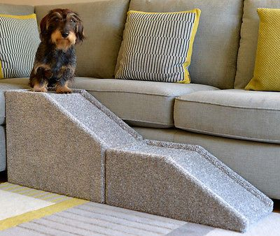 Beautiful Pet Ramp For Bed In Dog Ramp Handmade Indoor Cat Dog