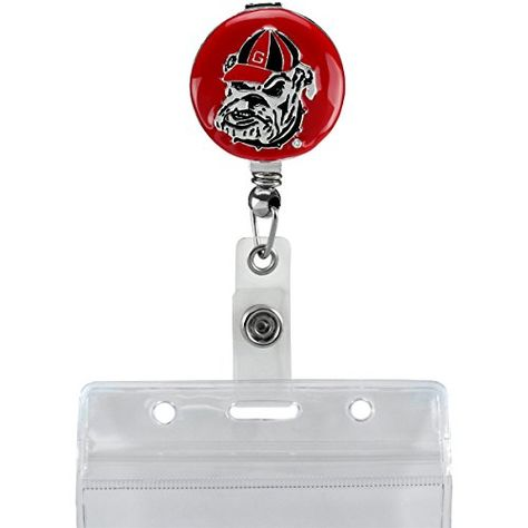 SLS Georgia Bulldogs 3D Color Emblem Matte Black Hitch Cover