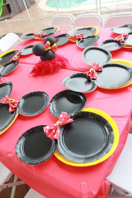 "Photo 2 of 15: Minnie Mouse / Birthday ""Aubrey's 2nd Birthday a Minnie affair"" | Catch My Party"
