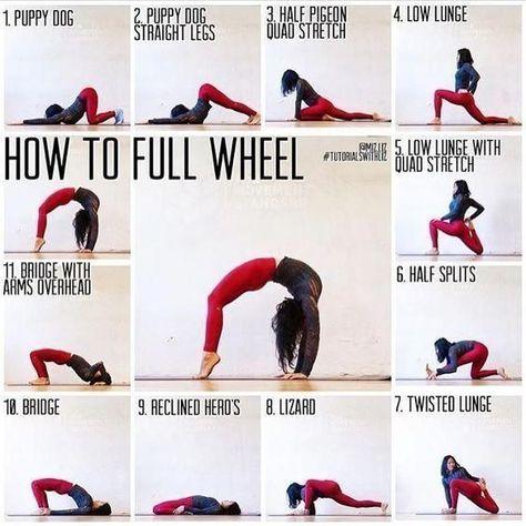 #yoga - Full Wheel