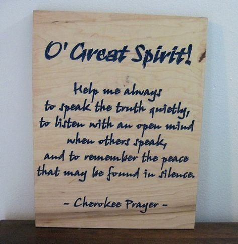 cherokee word for peace