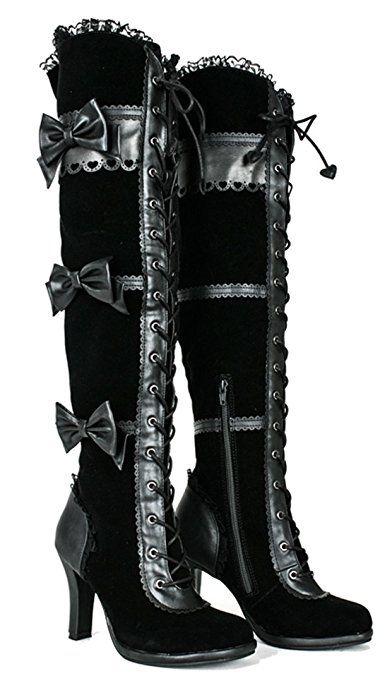 thigh high cowboy boots gambling