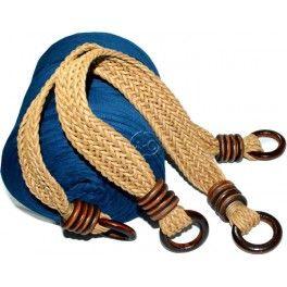 Discover thousands of images about Asas para bolso de simil cuero trenzado beige
