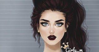 صور بنات كيوت كرتون مخلوقات خفية والفتيات لينة جدا صور بنات كيوت كرتون 2019 رمزيات كرتونيه بنات كيوت في وقت فراغهم Girl Cartoon Beauty Halloween Face Makeup