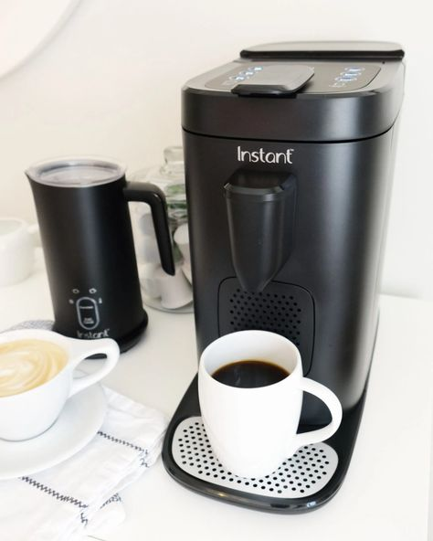 Instant Pod Coffee & Espresso Maker - Walmart Finds - ad/ Enjoy fast, fresh coffee or espresso—your choice—with Instant Pod. Pop in your favorite K-Cup pod or Nespresso capsule and brew coffeehouse flavor into every single cup. From the makers of Instant Pot, America's #1 most loved appliance. #walmartfinds #InstantPod #instantpot #walmarthome