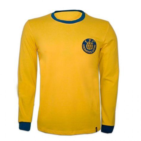 1. FC Lokomotive Leipzig voetbalshirt jaren '70 retro voetbal truitje football soccer vintage sport