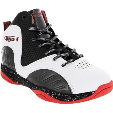 Black AND1 Enforcer  Casual Basketball  Shoes Boys