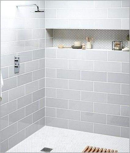 Gray Subway Tile Shower Light Gray Subway Tile Shower A Modern