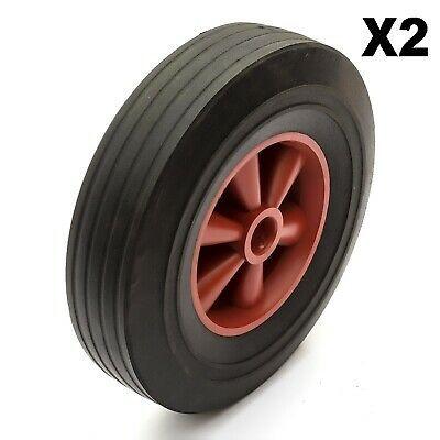 Sponsored Ebay 2x Heavy Duty 10 Inch Wheel Solid Rubber Tyre 255mm 200kg 1 Bore Sand Hopper In 2020 Rubber Tires Tire Rubber