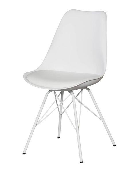 Esszimmerstuhl »Klarup« (Weiß) - Stühle - Esszimmer & Küche