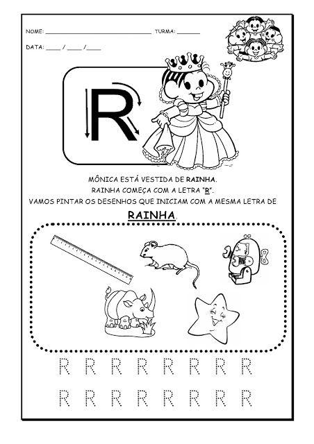 Alfabetizando Com Monica E Turma Alfabeto Atividades Parte 3