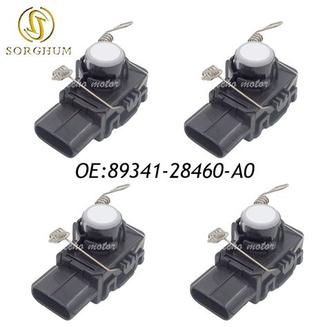 Honchang Pack of 4 Ultrasonic Parking Distance Control Sensor with O-Ring for 2013 Dodge Ram 3500 1EW63RXFAA
