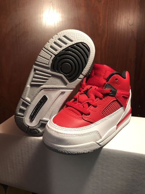 2771e5623b3a New Nike Air Jordan 4 IV Retro Red White Brooklyn Toddler Shoes size 8c  Msrp 70  fashion  clothing  shoes  accessories  babytoddlerclothing   babyshoes (ebay ...