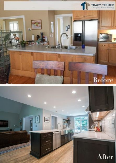 Kitchen Remodel Open Wall Lights 67 Ideas Home Remodeling