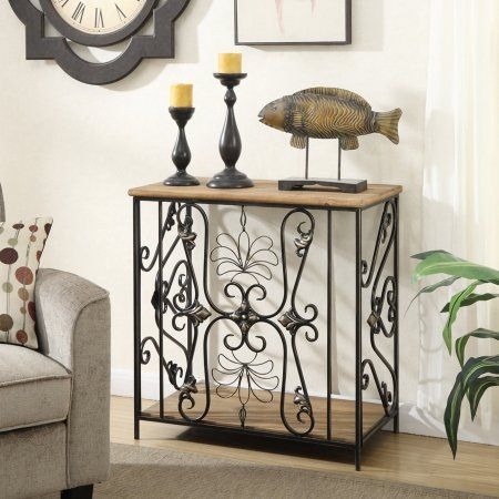 Surprising Convenience Concepts Sedona Decorative Wire Hall Table Machost Co Dining Chair Design Ideas Machostcouk