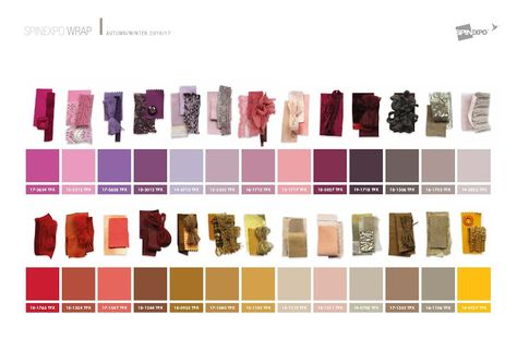 FASHION VIGNETTE: TRENDS // SPINEXPO - TEXTILE AND COLOR TRENDS . A/W 2016/17
