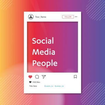 Plantilla De Publicacion De Instagram S De Iconos De Fondo De Redes Sociales Instagram Iconos Iconos Sociales Iconos De Los Medios Png Y Vector Para Descarga In 2021 Social Icons Post