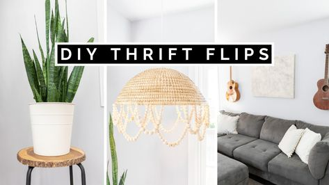 THRIFT FLIP HOME DECOR ON A BUDGET | DIY THRIFT FLIPS 2020 (EASY & AFFORDABLE)