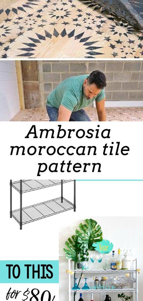 Ambrosia moroccan tile pattern