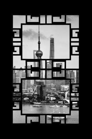 China 10mkm2 Collection Asian Window Shanghai Tower Photographic Print Philippe Hugonnard Art Com In 2020 Asian Windows Shanghai Tower Photographic Print