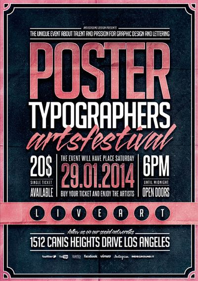 betype:  Typography Poster Template Vol. 2