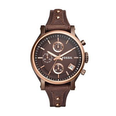 Montre pour femme : Fossil Original Boyfriend Watch – Women's Watches