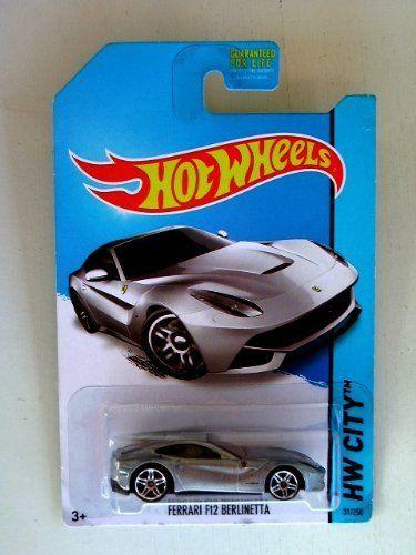 Ferrari F12 Berlinetta Silver Diecast Car Hot Wheels 2013 By Hot Wheels Diecast Cars Ferrari F12 Ferrari