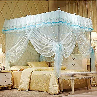 Amazon Com Uozzi Bedding Mosquito Net Bed Canopy Lace Luxury 4