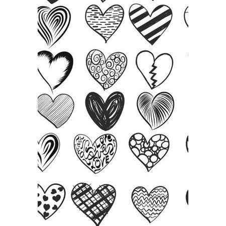 Heart To Heart Notebook Paperback Walmart Com In 2021 Heart Clip Art Heart Drawing Heart Art