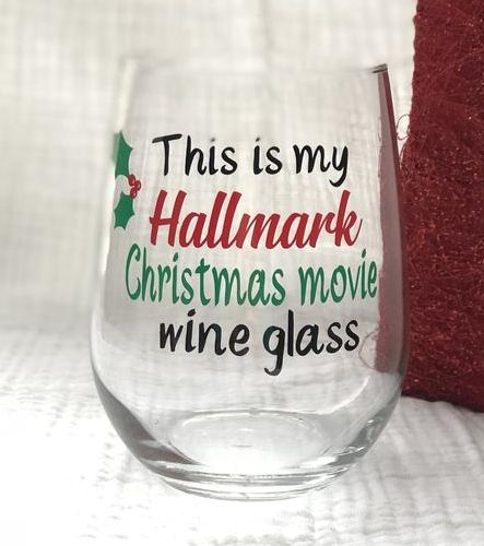 This Is My Hallmark Christmas Movie Wine Glass/Hallmark Channel/Christmas Gifts . This Is My Hallmark Christmas Movie Wine Glass/Hallmark Channel/Christmas Gifts Christmas Wine Glasses, Diy Wine Glasses, Painted Wine Glasses, Hallmark Channel, Hallmark Weihnachtsfilme, Best Hallmark Christmas Movies, Wine Glass Sayings, Sayings For Wine Glasses, Wine Gifts