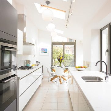 Victorian Terrace House Kitchen - contemporary - Kitchen - West ...