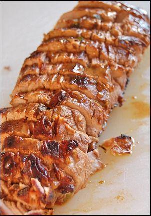 Pork Tenderloin w/ Pan Sauce