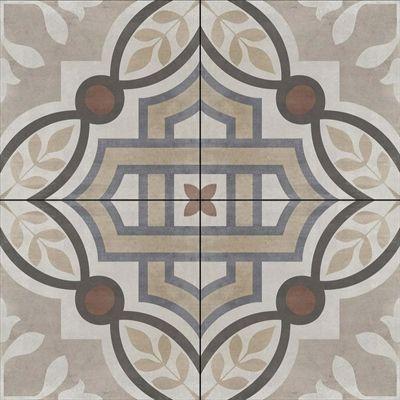 Della Torre 8 In X 8 In Manchester Multicolor Porcelain Floor And Wall Tile Porcelain Flooring Floor And Wall Tile Wall Tiles