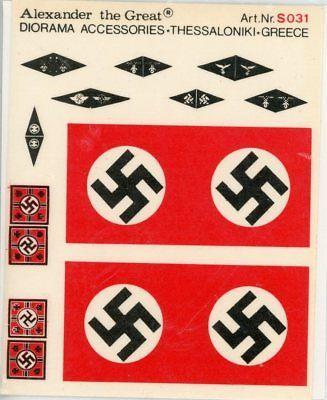 Decals 152933: Alexander The Great 1:35 Third Reich German Flags