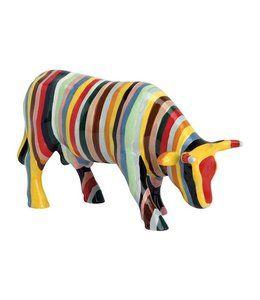 Cowparade Cow Parade Striped Medium Ceramic Koeien Koe