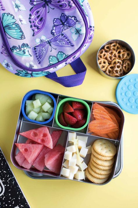 Bento Box Lunch Ideas for Kids - Peas And Crayons