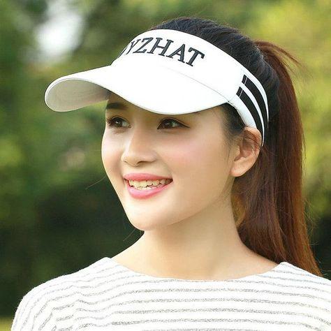BKONE Summer Hat Women UV Protection Baseball Cap Quick Dry Mesh Ladies Golf  Hat Tennis Hiking Fishing Beach Sun Hats Sombrero e1431f96e95