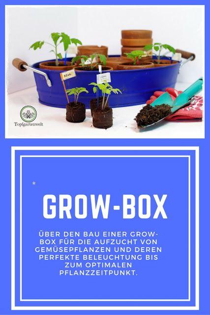 Anzuchtkasten Growbox Selber Bauen Gartenblog Anzuchtkasten Garten Und Outdoor