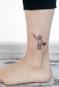 70+ Small and Adorable Tattoos by Ahmet Cambaz from Istanbul - TheTatt