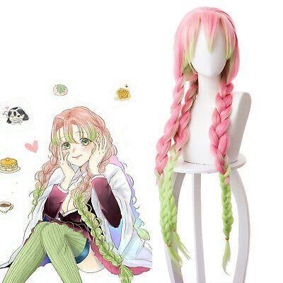 Costumes Demon Slayer Kimetsu No Yaiba Kanroji Mitsuri Cosplay Wigs Anime Braided Hair Test Mtransport No Is decorated with a pattern that nods to the nine pillars in the show, elite members of the demon slayer corps., like kyojuro rengoku, muichiro tokito, mitsuri kanroji, giyu tomioka. therapology