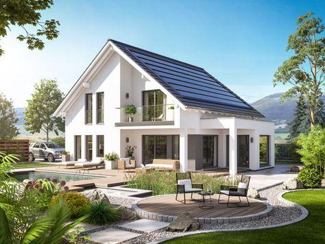 Unser FANTASTIC 165 V3.   #Haus #Fertighaus #Hausbau #Design #Architektur #Einfamilienhaus #House #BienZenker